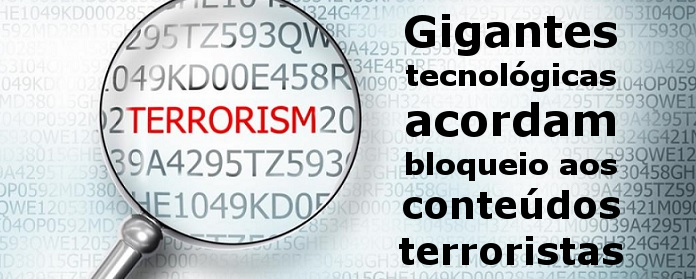 bloqueio aos conteúdos terroristas