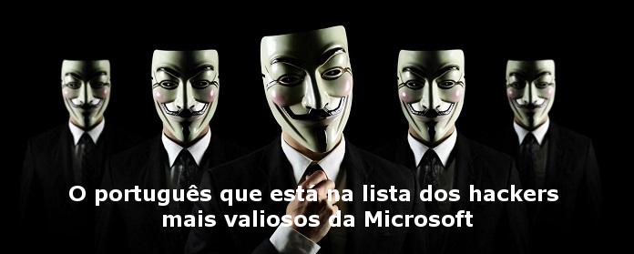 O português que está na lista dos hackers mais valiosos da Microsoft