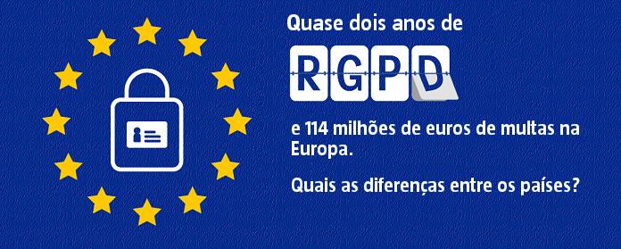 Quase dois anos de RGPD e 114 milhões de euros de multas na Europa. Quais as diferenças entre os países?