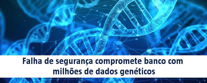 Falha de segurança compromete banco com milhões de dados genéticos
