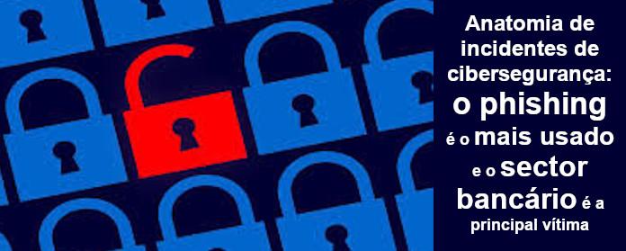 """Anatomia de incidentes de cibersegurança: o phishing é o mais usado e o sector bancário é a principal vítima"""" width="""