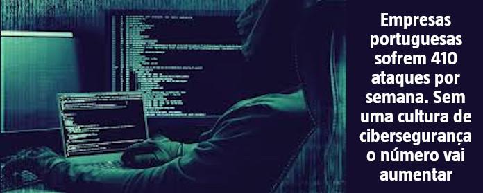 """Empresas portuguesas sofrem 410 ataques por semana. Sem uma cultura de cibersegurança o número vai aumentar"""" width="""