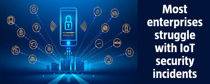 Most enterprises struggle with IoT security incidents