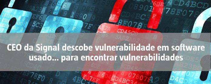 """CEO da Signal descobe vulnerabilidade em software usado… para encontrar vulnerabilidades"""" width="""